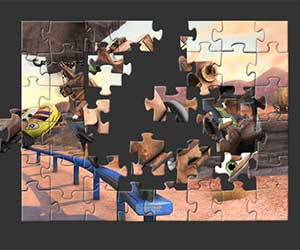 Tow Mater Puzzle game