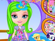 play Baby Barbie Design My Little Pony Dress