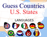 Guess Countries: U.S. States game