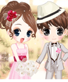 Flower Bride Dress Up Game game