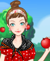 Picking Apples Dress Up Game game