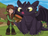 How To Train Your Dragon: Lunch Surprise game