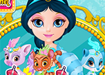 Baby Barbie My Palace Pets game