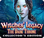 play Witches' Legacy: The Dark Throne Collector'S Edition