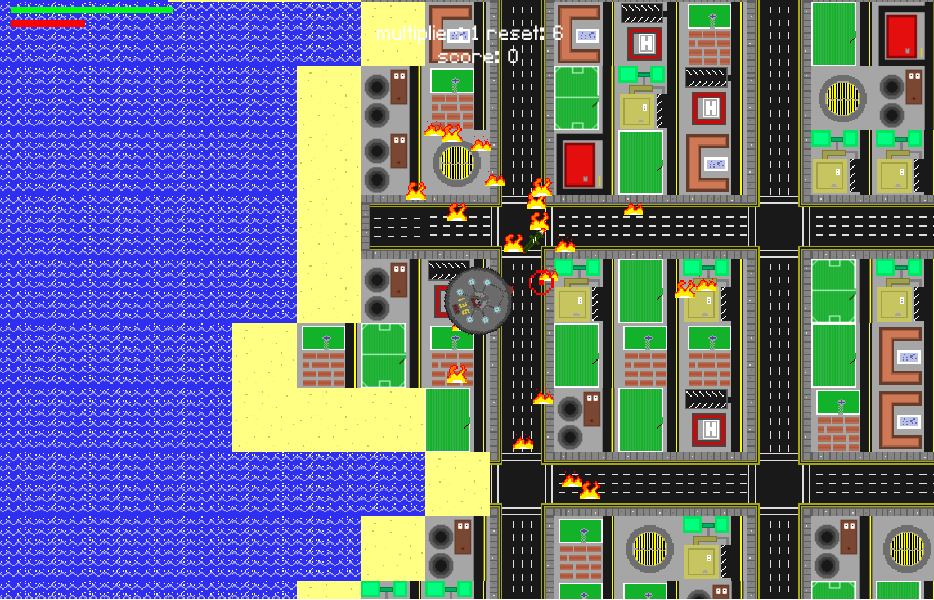 Death Ray Rampage game