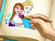 Frozen Coloring Book game