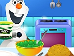 Olaf Cooking Sea Turtle Ice Cream Cake game