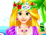 Rapunzel'S Summer Break Dress Up game