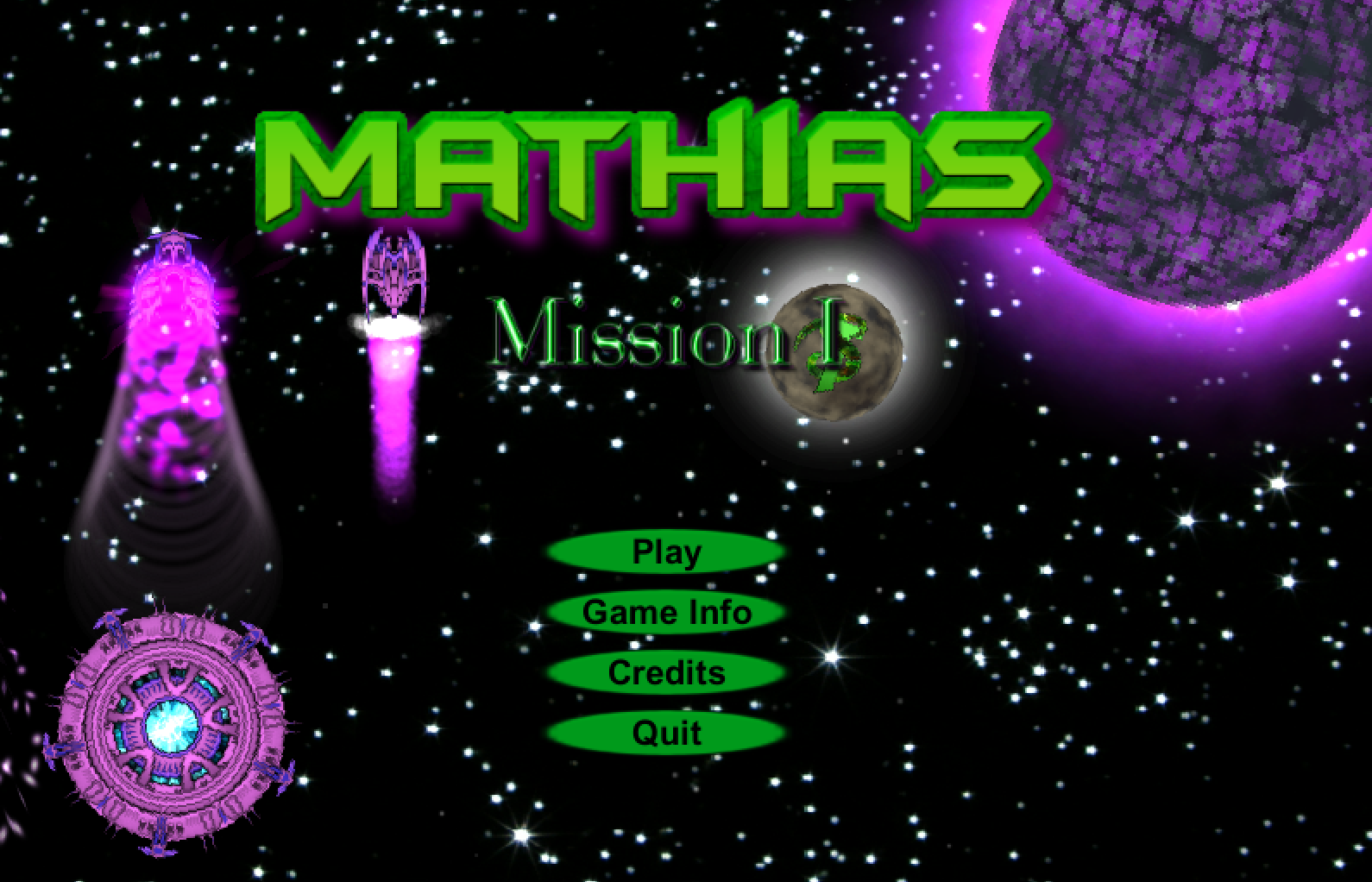 Mathias: Mission 1 game