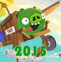 Bad Piggies Online 2015 game