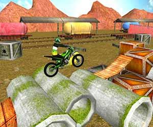 play Trials Gold 3D