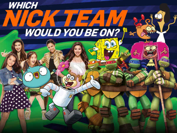 Kids Choice Sports: Which Nick Team Would You Be On? game
