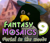play Fantasy Mosaics 9: Portal In The Woods