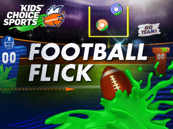 Kids Choice Sports 2015: Football Flick game