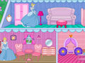 play Princess Cinderella Doll House Decor Game