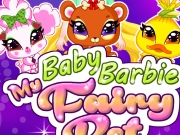 play Baby Barbie My Fairy Pet