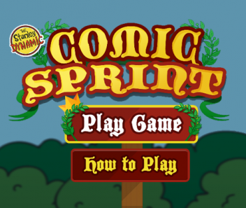 Comic Sprint game