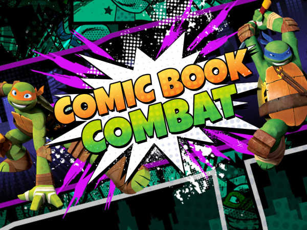 Teenage Mutant Ninja Turtles: Comic Book Combat game