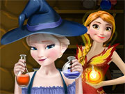 Frozen Superpower Potions game