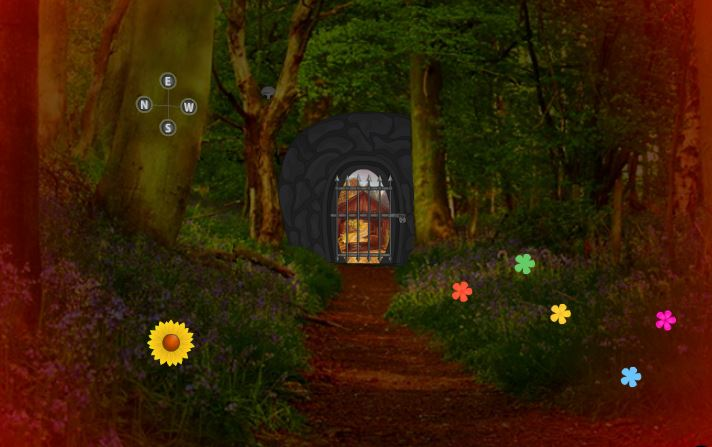 play Wowescape Red Forest Escape