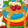 Addicted To Dessert: Rainbow Pancakes game