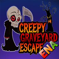 play Creepy Graveyard Escape