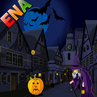 play Halloween Town Escape
