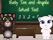 play Baby Tom And Angela School Test