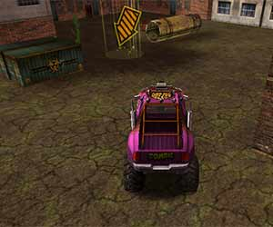 Zombie 3D Truck game