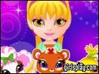 Baby Barbie My Fairy Pets game