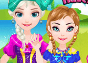 play Baby Frozen Sisters Picnic