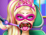Super Barbie Throat Doctor Kissing game