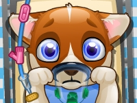 Puppy Surgery Kissing game