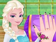 Modish Elsa Nail Care game