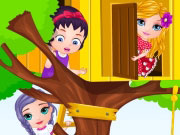 Baby Barbie Builds A Treehouse game