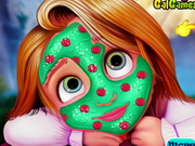 Baby Rapunzel Beauty Spa game