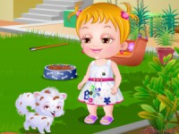 Baby Hazel Puppy Care game