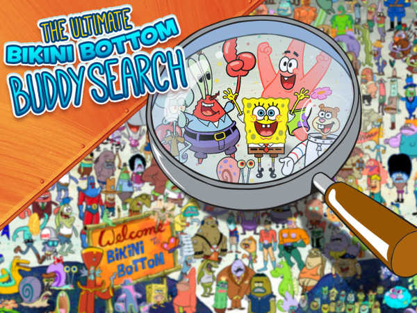 Spongebob Squarepants:The Ultimate Bikini Bottom Buddy Search game