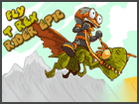 Fly T-Rex Rider Epic game