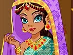 Sari Design Dress Up Game game