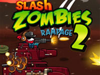 play Slash Zombies Rampage 2