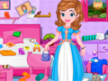 Princess Sofia Messy Bedroom Cleaning game