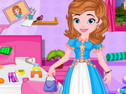 play Princess Sofia Messy Bedroom Cleaning