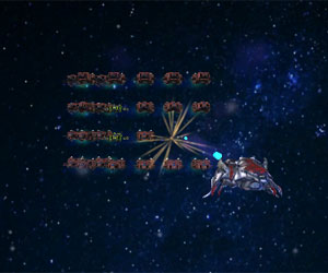 play Space Invaders 3D