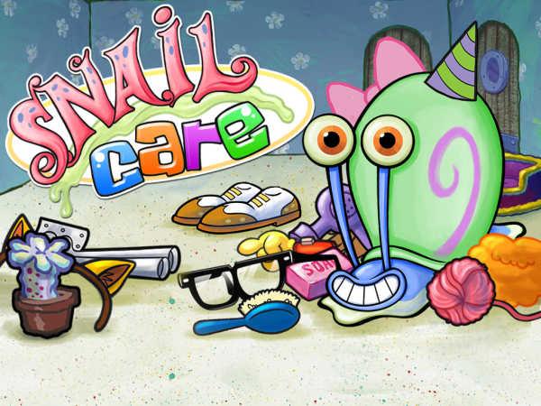 play Spongebob Squarepants: Snail Care