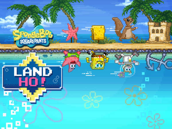 Spongebob Squarepants: Land Ho! game