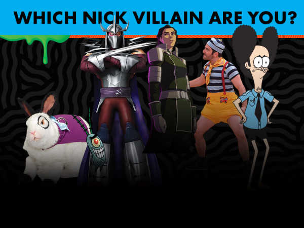 Nickelodeon: Which Nick Villain Are You? game