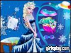 play Elsa Closet Cleaning