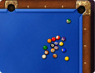 Rack 'Em Up 8 Ball game