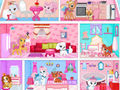 play Princess Pets Doll House Decor Game